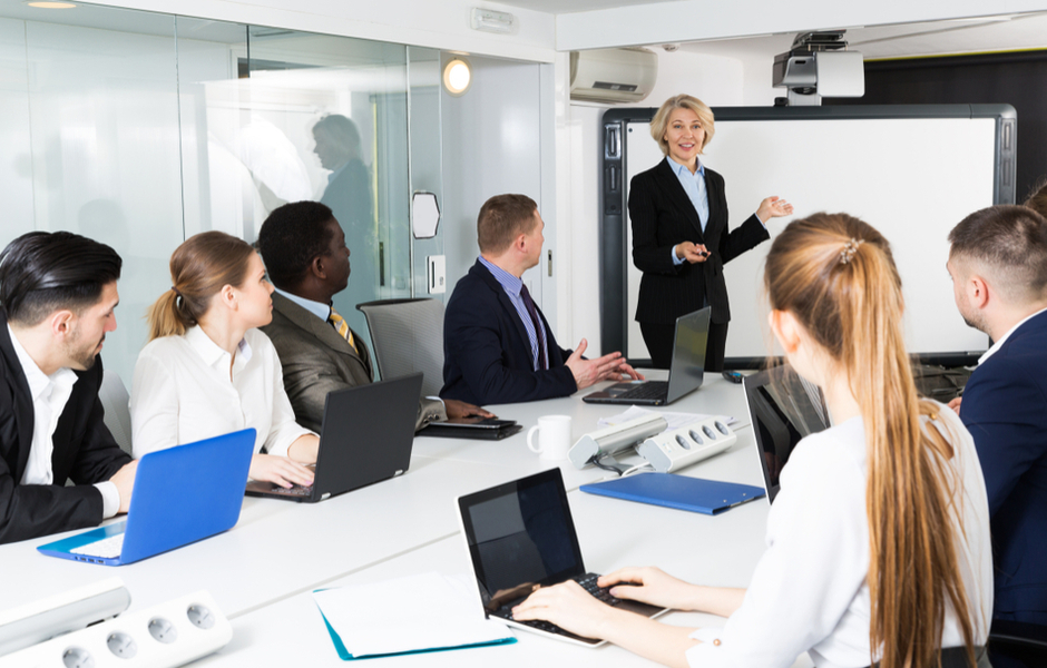 Advance Workplace Technology with Interactive Whiteboards